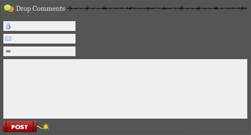 40个精美的Web表单设计