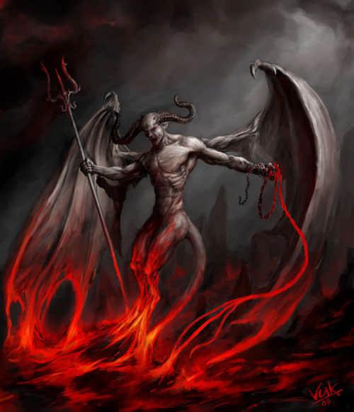25张数字恶魔插图欣赏