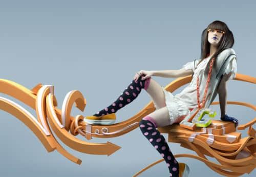40个壮观的3D效果涂鸦艺术