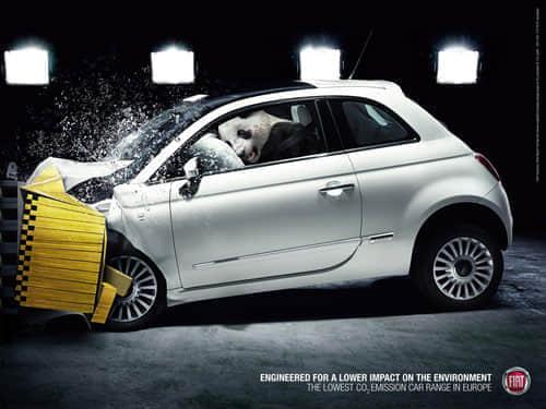 70个创意汽车广告 - 国外平面设计大师的作品