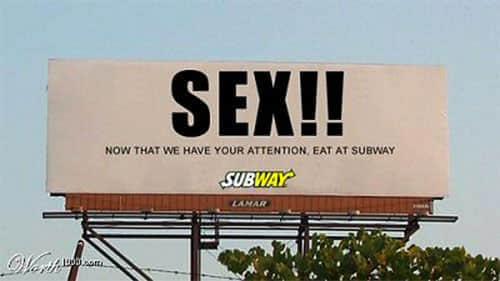 25个有趣搞笑的广告设计