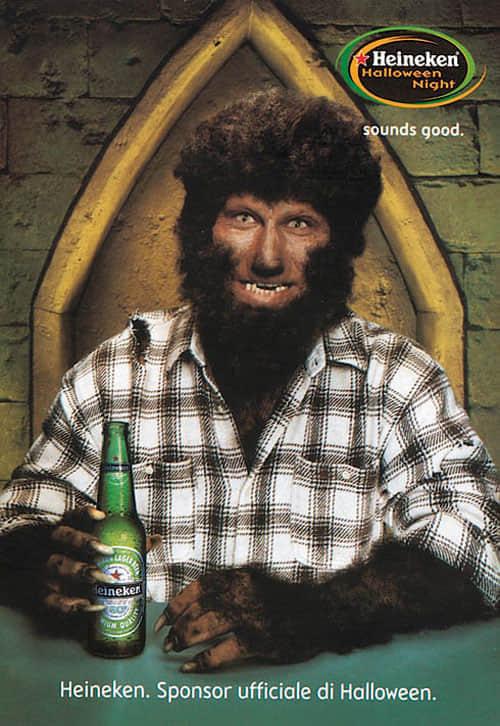 20个Heineken啤酒平面广告欣赏