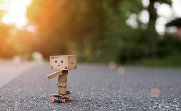50个可爱的瓦楞纸机器人摄影 - 萌死你
