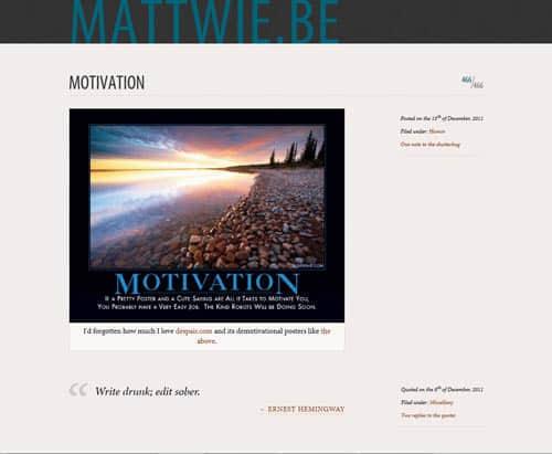 41个简洁靓丽的网站主题设计