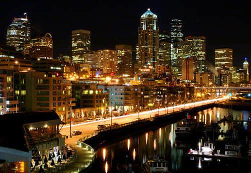 60张夜景城市摄影照片欣赏