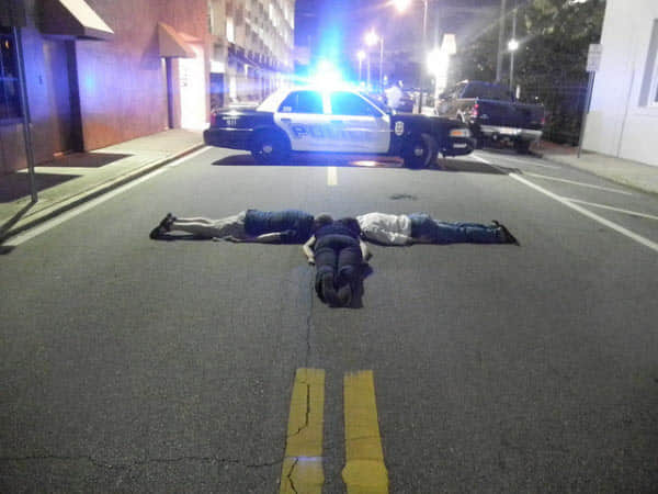 54张国外的Horsemaning与Planking Photography艺术(仆街艺术)