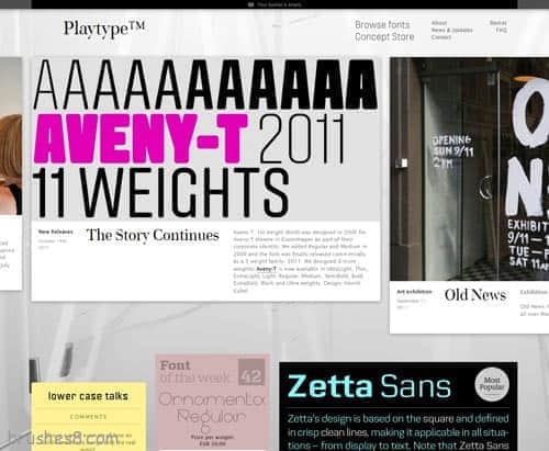 36个国外电子商务创意网站设计