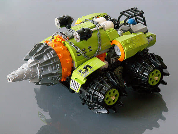 40个乐高机器人欣赏