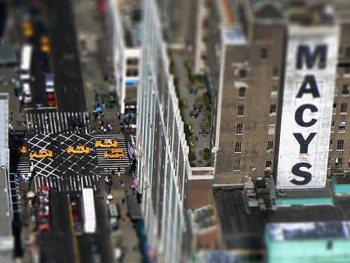 30张Fantastic Tilt Shift照片艺术 - 你能分得清是模型还是真实场景?