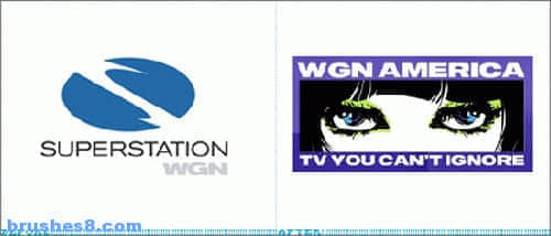 十个大品牌标志设计新旧变迁对比