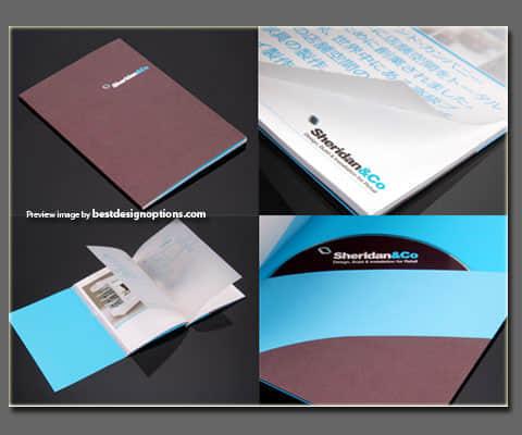 30种创意宣传样本小册子设计欣赏