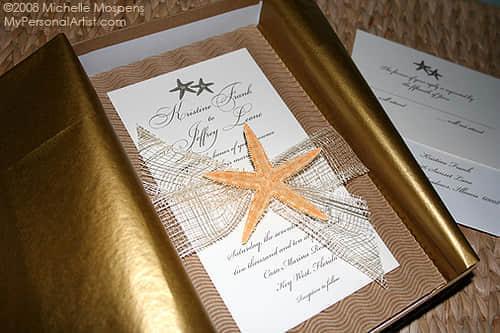 21张独特的婚礼请柬艺术