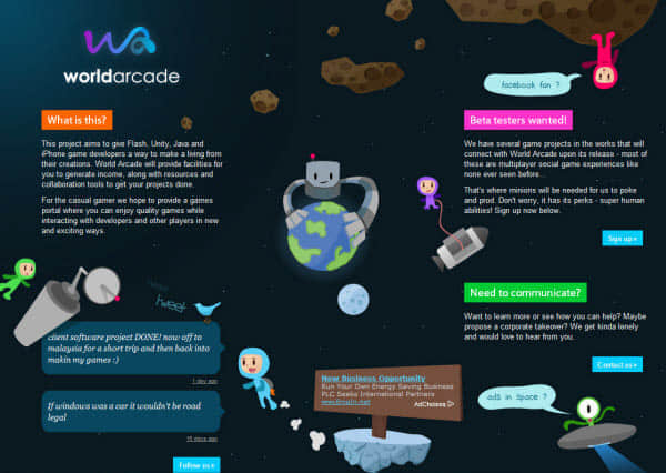 30个国外独特创意的Web2.0网站设计欣赏