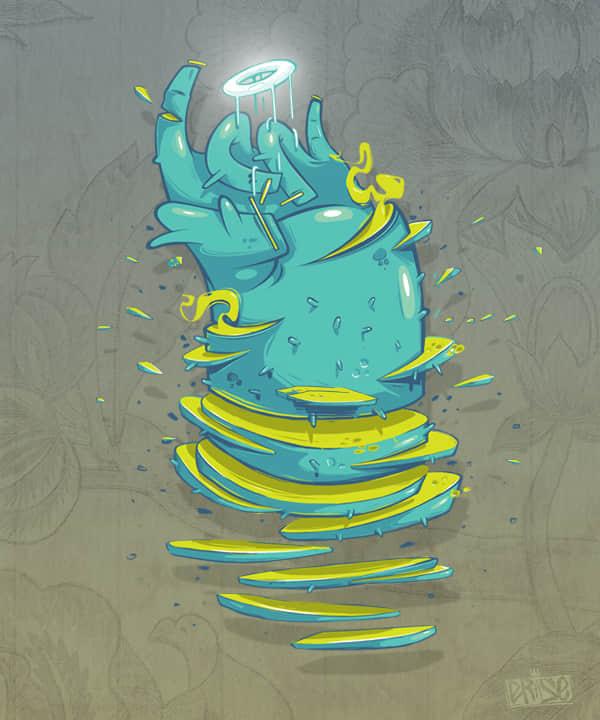 44张灵感插图设计欣赏 插画艺术 国外插图  artistic inspiration