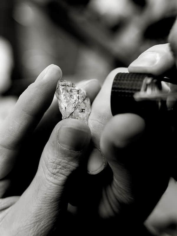 20张钻石开采加工流程摄影照片