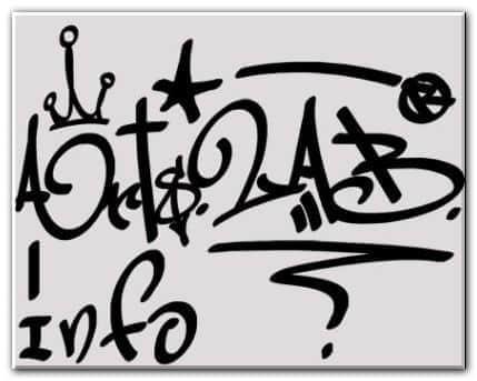字符涂鸦笔刷 涂鸦笔刷 字符笔刷  symbols brushes