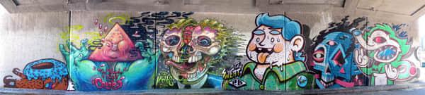 35张墙壁涂鸦文化欣赏 街头涂鸦 涂鸦文化 国外街头涂鸦文化  photoshop appreciation