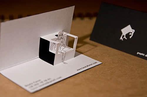 54张精彩名片设计 - 个性化创意名片你绝对不可以错过