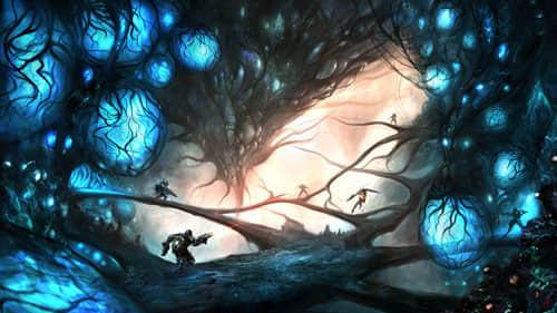 25张机械魔幻数字插图欣赏 魔幻插图 数字插图 国外插画  artistic inspiration