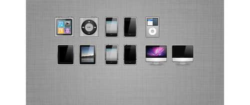 20个与苹果相关的图标素材下载