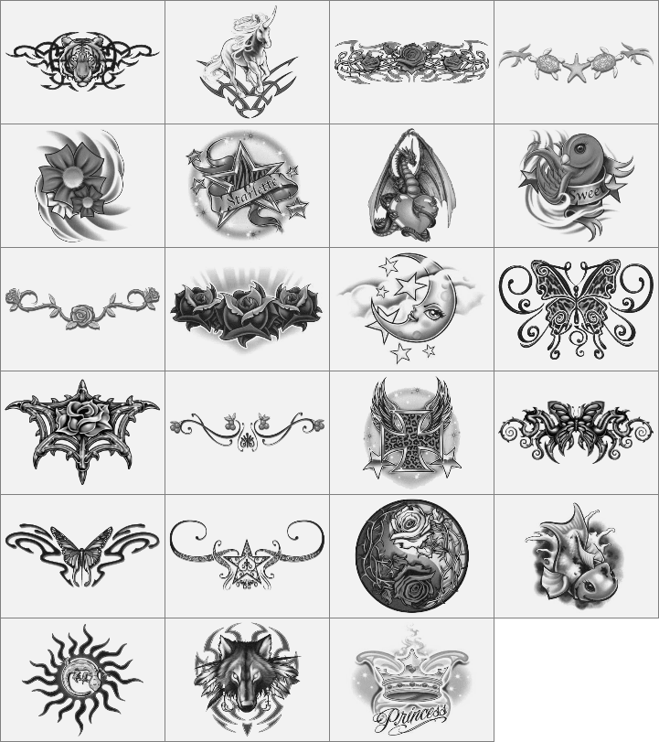 魔幻世界徽章笔刷