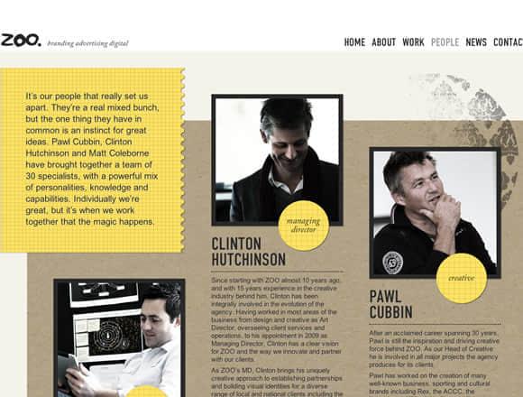 21个web设计中应用圆形设计的网站