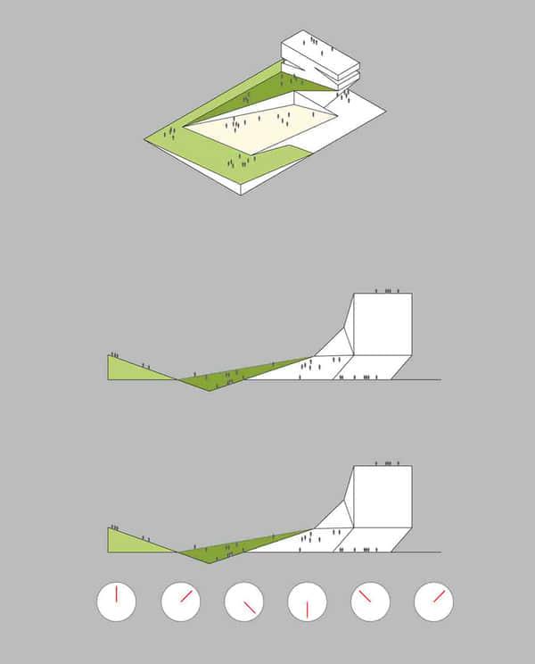 24张大连图书馆竞争投标设计方案