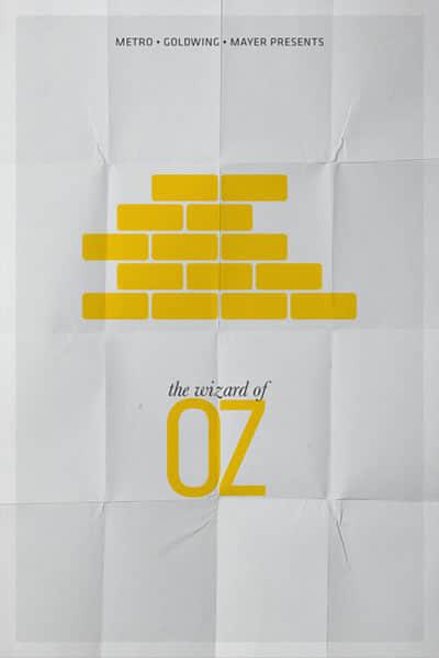 19张简洁设计的宣传海报