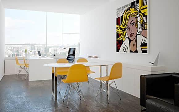 20个创意办事处装潢设计