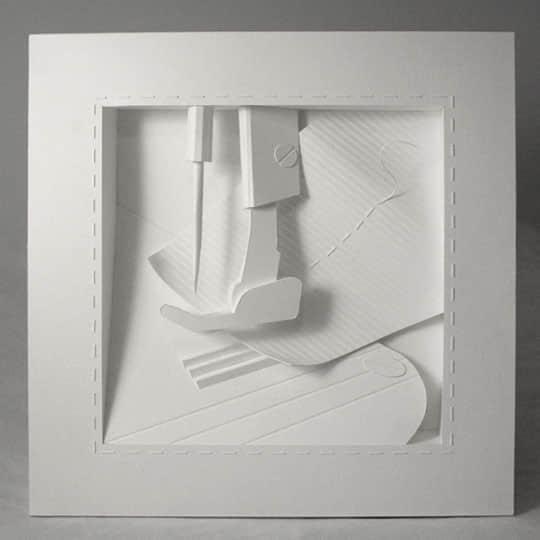 15个惊人的纸做艺术品欣赏 纸艺术 纸创意 创意纸艺术  crazy ideas
