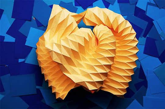 15个惊人的纸做艺术品欣赏