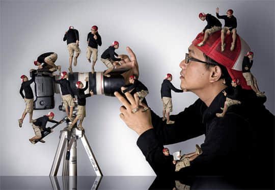 20张创意PS处理过的照片 照片特效 PS处理照片  crazy ideas photoshop appreciation