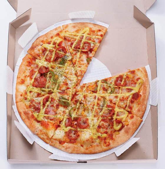 一份披萨盒子的体验设计作品