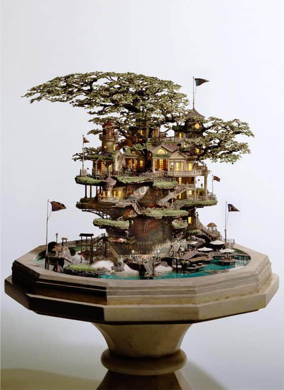 5张神奇的盆景艺术