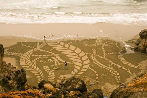 10张国外沙滩艺术创作