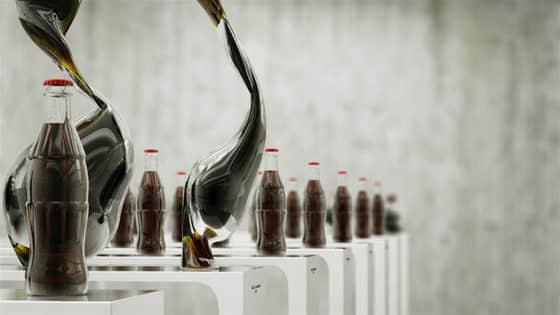 10张来自可口可乐的艺术舞蹈