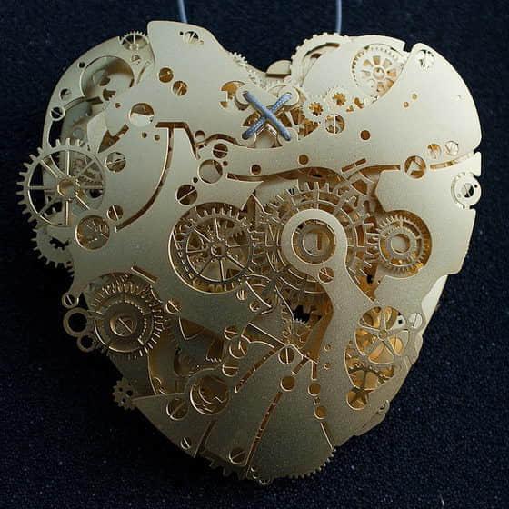 8张机械制造的爱情心脏(永恒的爱情宣言)