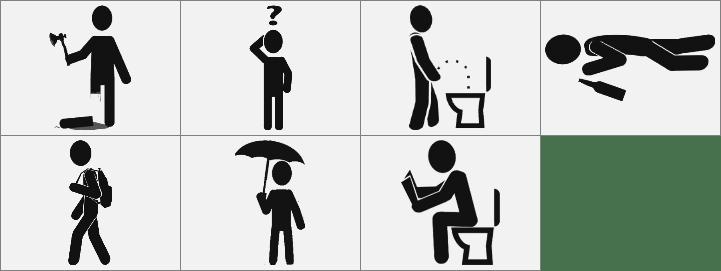 提示人物标志