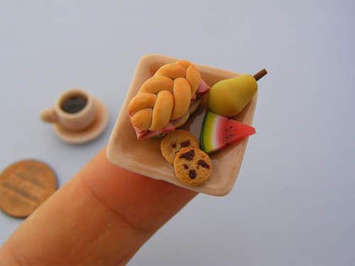 12张袖珍美食模型欣赏