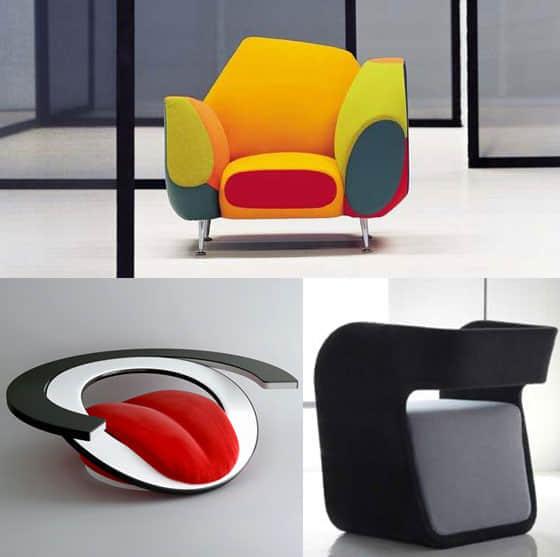 10款现代工业设计创意概念沙发