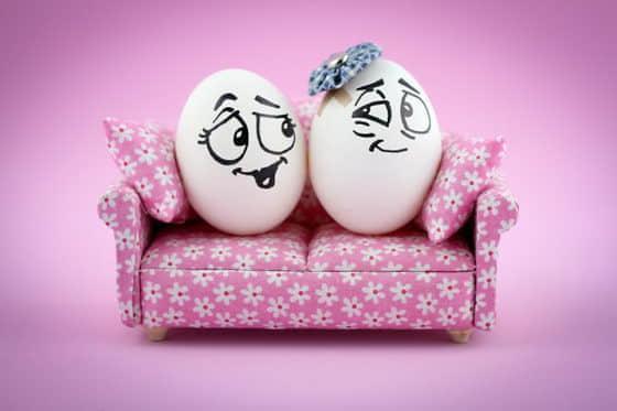 15张可爱超萌鸡蛋表情秀