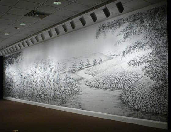 10张壮观的手指山水画欣赏