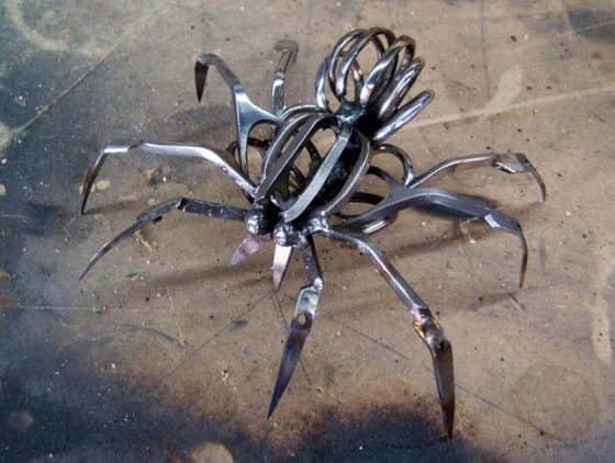 酷炫剪刀蜘蛛-创意手工艺品