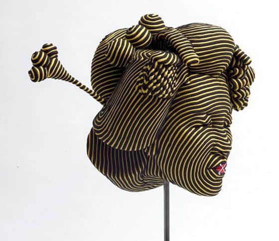 8张尼龙丝艺术创作品