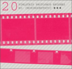 老电影胶带笔刷