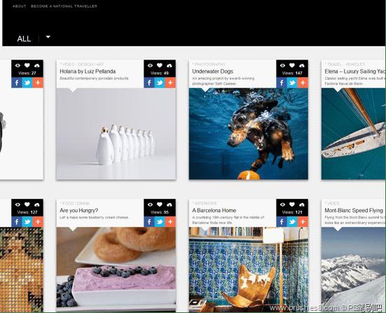 30个最新最酷的web设计流行趋势