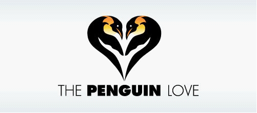 30个魅力十足的企鹅logo标志设计思路