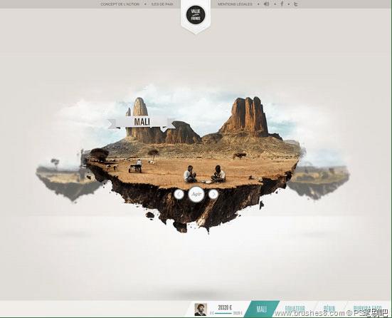 32个美观漂亮的Flash网站设计