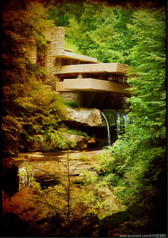 6张山泉流水的别墅设计