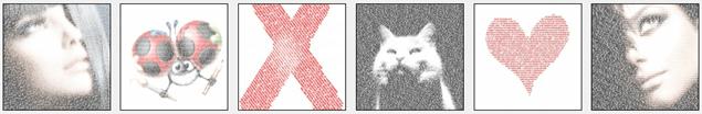 如何制作个性化的文字排版图像?